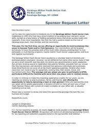 Proposal Letter For Sponsorship Sample For Event Sponsorship Request Cover Letter Sponsorship Letter