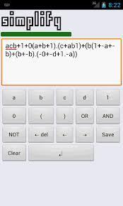 morgana boolean calculator x 1 8 screenshot 2