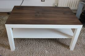 ... Coffee Table, Ikea Lack Coffee Table Hack Stained Wood Ikea Lack Coffee  Table Instructions: ...
