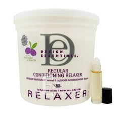 Relaxer By Design Essential Design Essentials Regular Conditioning Relaxer 4 Lb W Roll On Body Oil