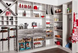 rustic kitchen pantry cabinet design with pantry shelving ideas and country farmhouse feel