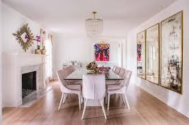 art deco dining room hollywood