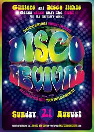 disco flyer psd templates design for photoshop v  disco revival flyer template psd design for photoshop