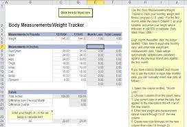 Weight Loss Challenge Excel Sheet Biggest Loser Spreadsheet