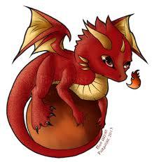 anime chibi dragon. Perfect Chibi Chibi Fire Dragon By MadArtistParadise  On Anime