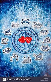 Astrology Love Chart Astrology Chart With All Zodiac Signs And Hearts Love For