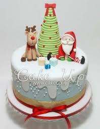 Christmas Cake Design Pinterest Christmas Cake Presenting Father Christmas And His