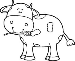 Small Picture Cow Coloring Pages 2 Coloring Page