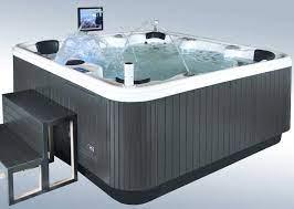 garden outdoor spa tub whirlpool spa