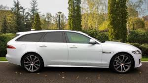 JAGUAR XF D R-SPORT ESTATE, DIESEL, In WHITE, 2017 - Image