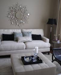living room white silver black taupe blue grey home decor intended