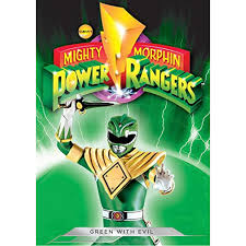 Power Rangers Bedroom Decor Mighty Morphin Power Rangers Green With Evil Dvd Cinedigm