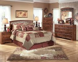 Rent to Own Ashley Timberline 4 Piece Bedroom Set