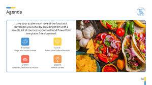 Free Food Powerpoint Templates Food Premium Powerpoint Template Themes For Food Ppt