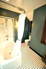 curved corner shower rod curved corner shower rod curtain for chrome curved shower curtain rod for curved corner
