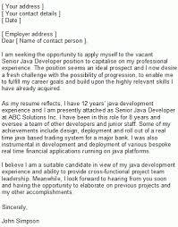 Cover Letter Programmer Junior Programmer Covering Letter Sample