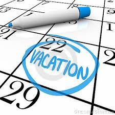 Resultado de imagen de fechas vacaciones