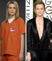 taylor schilling it takes a lot of makeup to look like i m not wearing any on oitnb