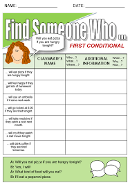 First Conditional All Things Grammar