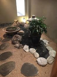 zen garden at the entrance picture of