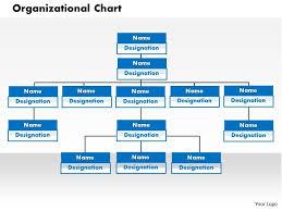 Org Chart In Powerpoint 0414 Organization Chart In Powerpoint Presentation