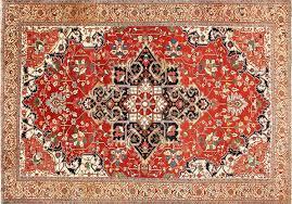 antique persian serapi heriz rug