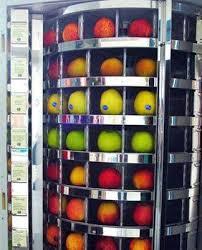 Fruit Vending Machine Magnificent Get A Fresh Fruit Vending Machine For Your Office Healthy Public