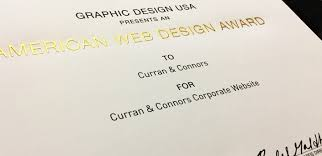 Curran & Connors Recognized with 2017 American Web Design Awards ...