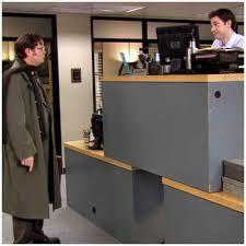 the office super desk. Peachy Design Ideas Double Decker Desk The Office Jim S Best Pranks Super P