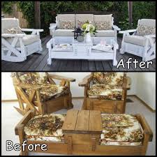 cowies craft cooking corner old sofa couch set makeover