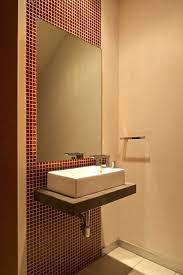 vanities sinks powder room sink small powder sink vanities red rectangle wall and large mirror
