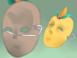 Cardboard Masks To Decorate How to Make a Venetian Mask 60 Steps with Pictures wikiHow 36