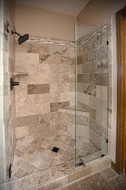 bathroom remodel tile shower. Bathroom Remodel Travertine Tile Shower - Excellence In Construction LLC |