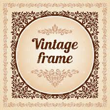 Vintage frame border Colored Square Vintage Frame With Stylized Leaf Border Vector Image Vector Illustration Of Borders And Frames Click To Zoom Rf Clipart Square Vintage Frame With Stylized Leaf Border Vector Illustration