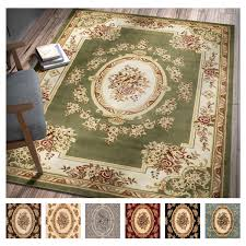 aubusson area rugs inspirational well woven agra traditional french country aubusson area rug