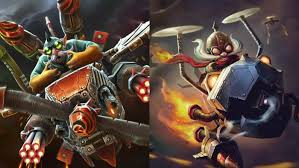 dota 2 and league of legends characters with resemblance