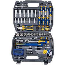 <b>Набор инструментов Kraft</b> КТ 700678 <b>1/2</b>''DR и 1/4''DR 109 пр ...