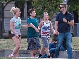 In february 2008, a los angeles court granted. Britney Spears Explores Berlin With Sons During Kevin Federline Child Support Battle