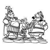 Kleurplaten Asterix En Obelix
