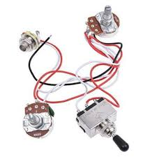 buy kmise electric guitar wiring harness kit 3 way toggle switch Custom Guitar Wiring Harness kmise electric guitar wiring harness kit 3 way toggle switch 1v1t 500k pots for les paul