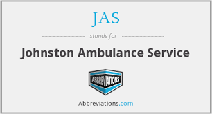 Johnston Ambulance Service What Is The Abbreviation For Johnston Ambulance Service