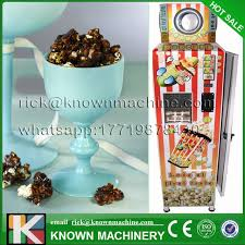 Popcorn Vending Machine For Sale Extraordinary The CE Certified High Quality Automatic 4848 V Popcorn Vending