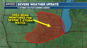 Severe Thunderstorm Watch in Effect for ...