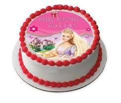 Barbie Edible Cake Topper Cupcake Toppers Strips Edible Prints