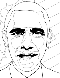 Small Picture Barack Obama Coloring Page Handipoints