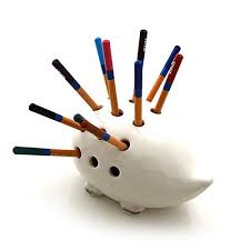 Porcupine / Hedgehog Pencil Holder