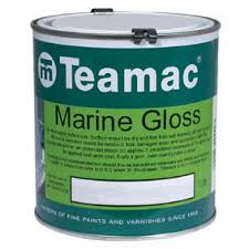 Teamac Marine Gloss Paint 2 5l