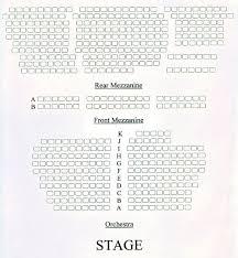 Seating Chart Darress Theatre Boonton New Jersey