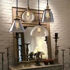 creative industrial ceiling lights half globe vintage industrial ceiling lamp glass pendant lighting loft shade industrial