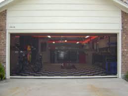 retractable garage door screensGarage Door Screen Tampa FL